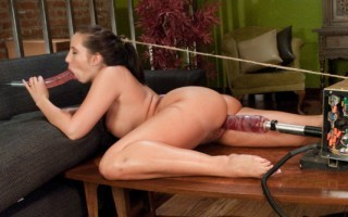 Archive Classic: Kelly Divine does hard core anal with fucking machines. She gets nailed by a modified bicycle and the Ass Blaster.