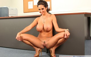 Ava Addams is head of customer service. She gets a complaint letter in the mail telling her how much her company sucks. The letter also tells Ava to go fuck herself with the dildo that the customer included. Ava decides why not and starts furiously mastur