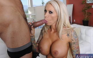 Lolly Ink tries to get her friends brother to let him use her car, and she decides to fuck him instead.