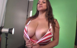 Christmas Means Big and Juicy With Monica Mendez Boobies