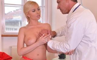 Unforeseen Examination - Horny Doc Penetrates Blonde Romanian Ba