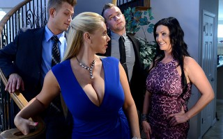 Karen Fisher and Sammy Brooks have known each other forever. These foxy Milfs are the very best of friends and are used to sharing everything. So when that spicy Sammy starts getting a little frisky with Karen's son Van, it's obvious nothing's going to st