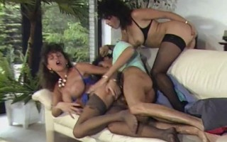 Sarah Young - lesbian sex and threesome