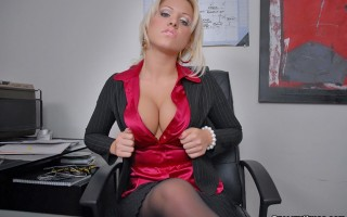 12 pics and 1 movie of Tamara from Big Tits Boss