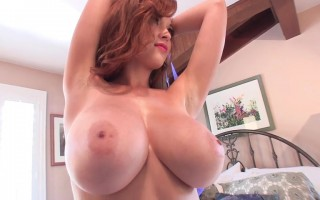 Ravishing Tessa Fowler Teasing With Her Periwinkle Bra And Panty