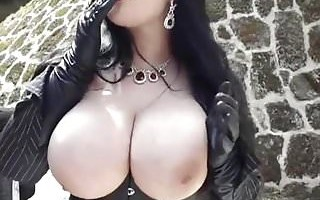 Huge Monster Tits Punk Bitch Blowjob 31