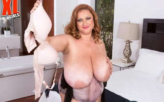 Really Big Bras For Julia Jones' Really Big Breasts