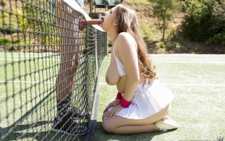 Alex Chance' tennis titties drive Juan crazy