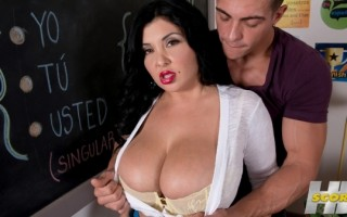 That Busty, Lusty Spanish Teacher