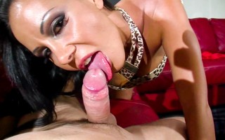 Laly is blowing and getting fucked by Tristan in POV style!
