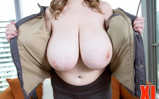 Warm front in Canada with Smiley Emma's huge naturals