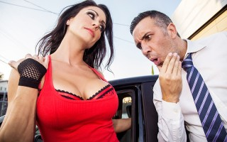 Jessica Jaymes shows up her driving exam totally unprepared. She's failed the test 68 times, with no luck. If she wants to pass on the 69th try, then she's going to need to convince Keiran to examine her big tits instead of her driving. By the end of her