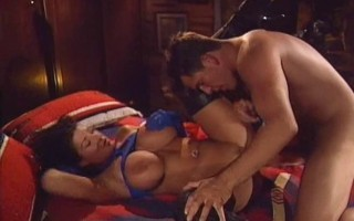 Vintage fuck in thigh boots