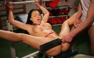 Aletta Ocean gets bound, punished and screwed by her master