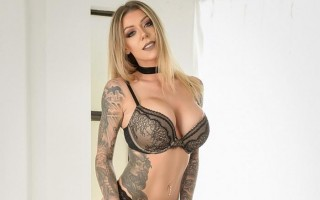 Sexy bomb tattoo girl Karma RX just for you