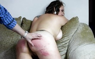Big Bottom Belting - (Spanking)