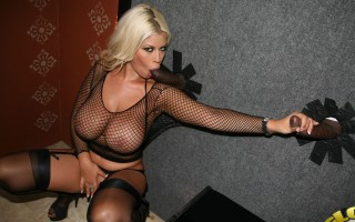 It's time for the white girls to step aside and let a busty Latina try her hands, mouth and pussy at the strip club. Bridgette B. has tits that, just by themselves, have paid for this month's mortgage several times over. That ass? That flawless booty has