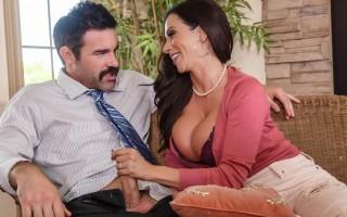Ariella Ferrera fucks her sons teacher