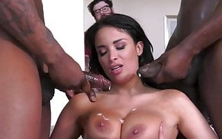 Anissa Kate Enjoys Anal Sex And Dp With BBC