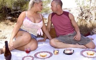 Samantha Sanders Messy Tit Cake
