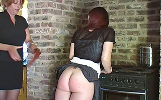 Neglecting Chores = Spanking