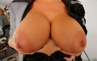12 pics and 1 movie of Nikky from Big Tits Boss
