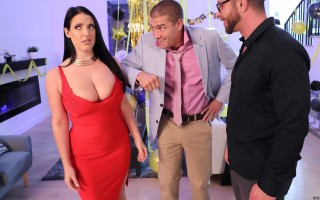 Fappy New Year with busty wife Angela White
