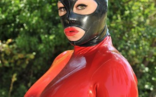 Latex Lucy In The Clutches And Complete Mercy Of Ruby Rubber