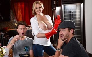 Julia Ann's son is a real ungrateful little brat, and by the time he finally decides to move out with his best buddy Xander, she's had just about all she can handle of his selfishness. But when he forgets about mother's day, that's the last straw! She hea