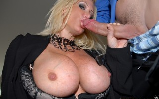 12 pics and 1 movie of Dawson from Big Tits Boss