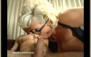 Blonde Bombshell Claudia-Marie brings a taste of the south to the Big Apple. A local boy will never be the same after getting a taste of her huge fun bags and ass.