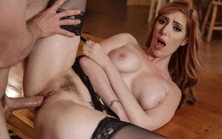 Cabin Fever with busty redhead Lauren Phillips