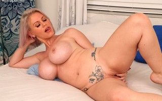 Busty Business with Casca Akashova at Karups Older Women