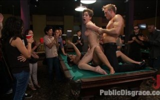Sloppy whore Lily LaBeau shows up late and JP and Isis aren't having it. They invite the dark denizens of a pool hall to make her truly earn her pay.