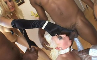 Two Whores Treated Like Sexual Slaves By Four Black Men