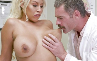 Bridgette B gets a dick prescription at the doctor's office
