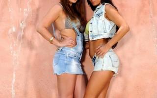LaTaya Roxx & Sheila Grant Get Playful With Their Big Melons