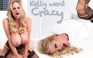 Kelly fits her big tits into a straight jacket and Ryan sets them free.
